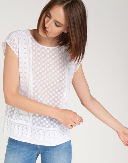Ekta ecru embroidered shirt PhotoZ   1-2-3