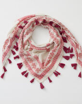 Savine pale pink scarf light pink.
