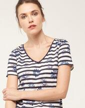 Naméa striped t-shirt navy.
