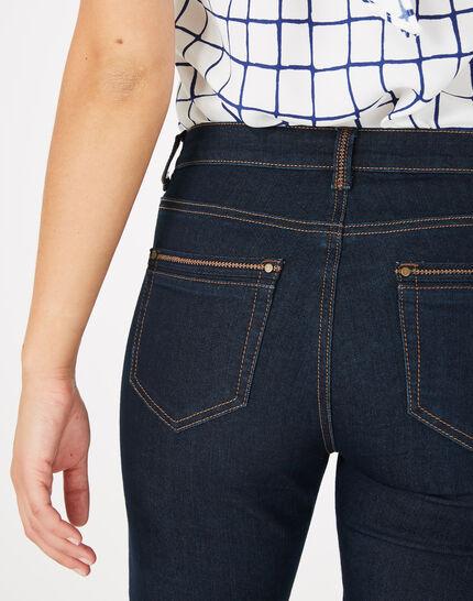 Pia raw-cut 7/8 length jeans (4) - 1-2-3