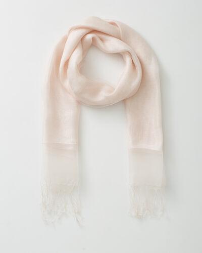 Maeva pale pink silk stole (1) - 1-2-3