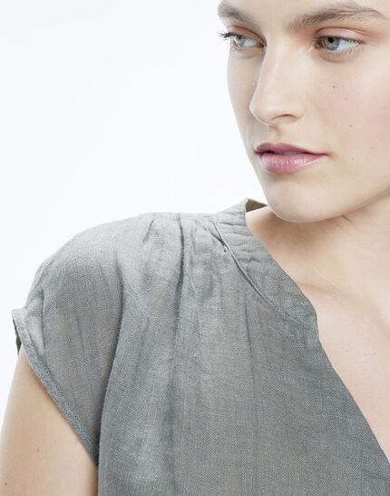 Fiona khaki linen shirt (6) - 1-2-3