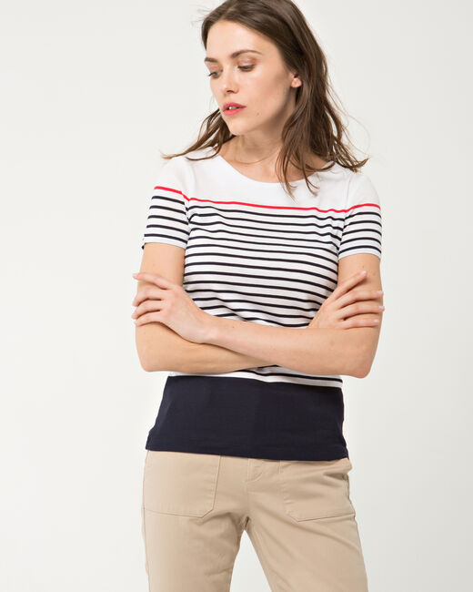 Lucie striped T-shirt (2) - 1-2-3