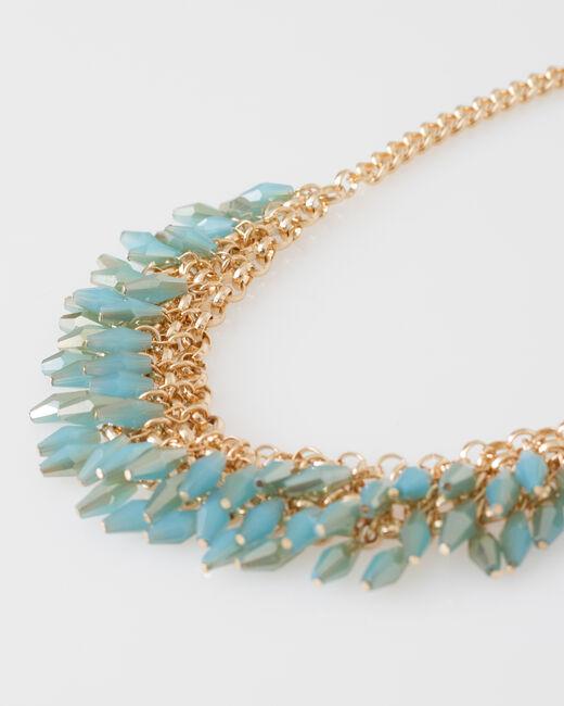 Collier plastron de perles Wandita (1) - 1-2-3