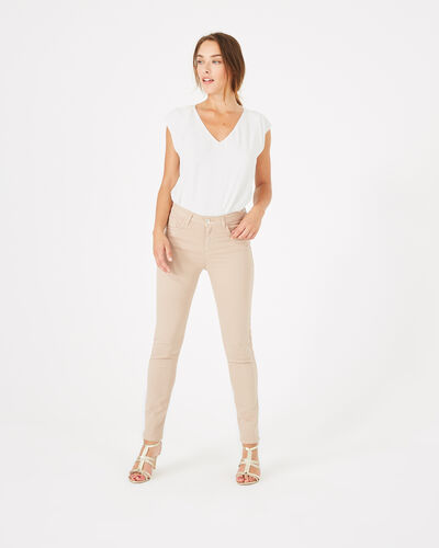 Oliver 7/8th length nude trousers (2) - 1-2-3