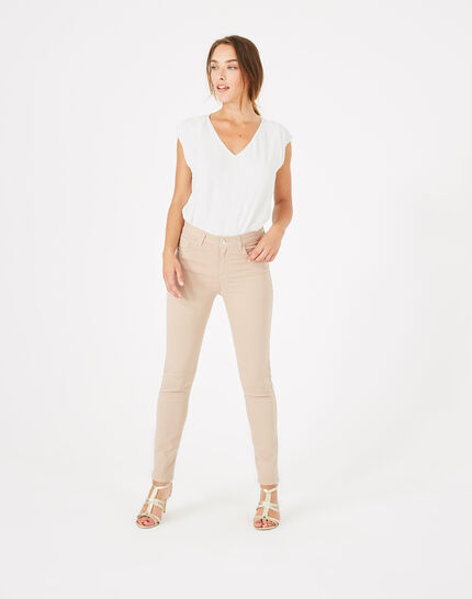 Oliver 7/8th length nude trousers PhotoZ | 1-2-3