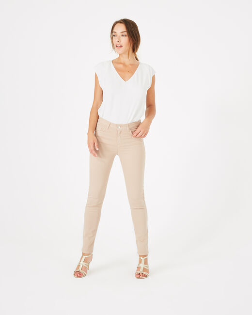 Oliver 7/8th length nude trousers (1) - 1-2-3