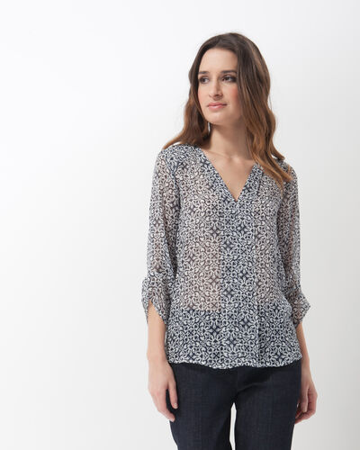 Elvie blue printed shirt (1) - 1-2-3