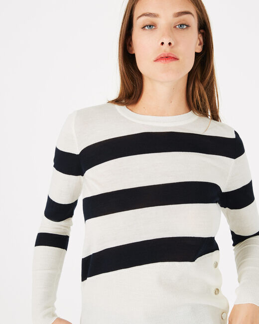 Phare sweater with wide stripes (1) - 1-2-3