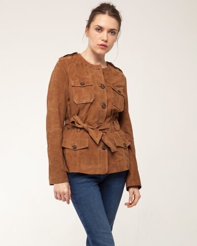 Gaspard camel safari jacket (2) - 1-2-3
