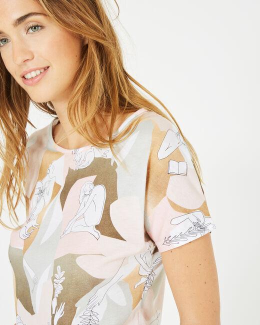 Tee-shirt imprimé dessins artistiques Basile (2) - 1-2-3