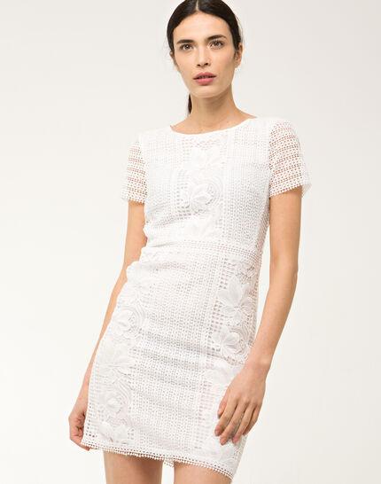 Biba white lace dress PhotoZ | 1-2-3