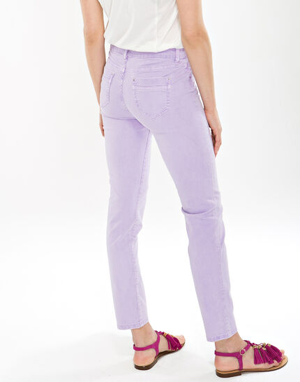 Oliver lilac cropped trousers (4) - 1-2-3