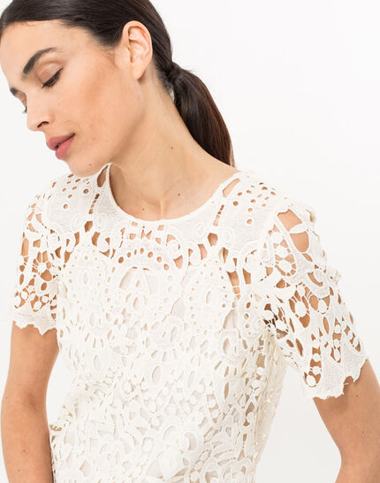 Bergamote cream lace dress (4) - 1-2-3