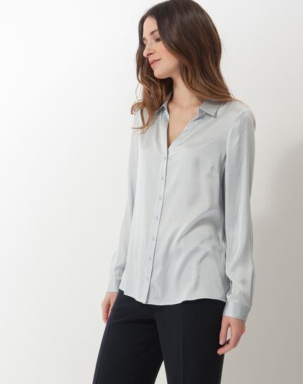 Dany sky blue silk shirt (3) - 1-2-3