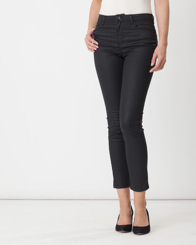 Oliver coated black jeans (2) - 1-2-3