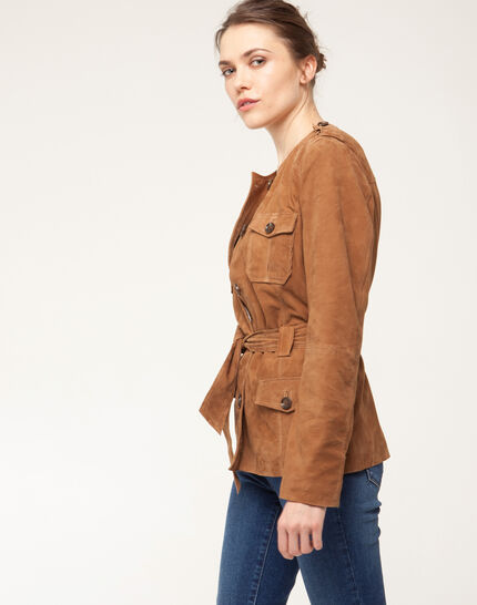 Gaspard camel safari jacket (3) - 1-2-3
