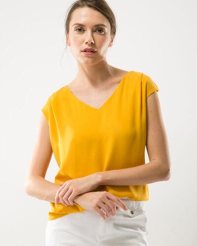 Tee-shirt jaune Neptune (1) - 1-2-3