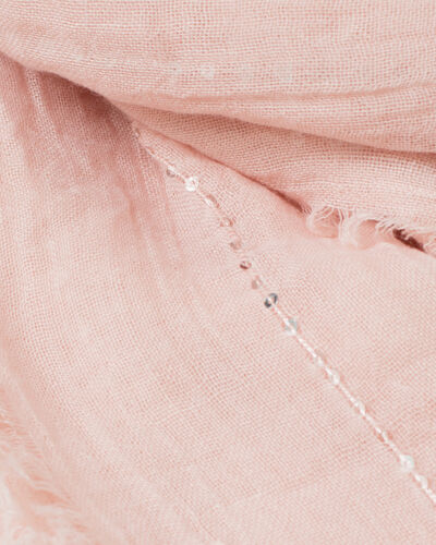 Safir sequined pale pink stole (2) - 1-2-3