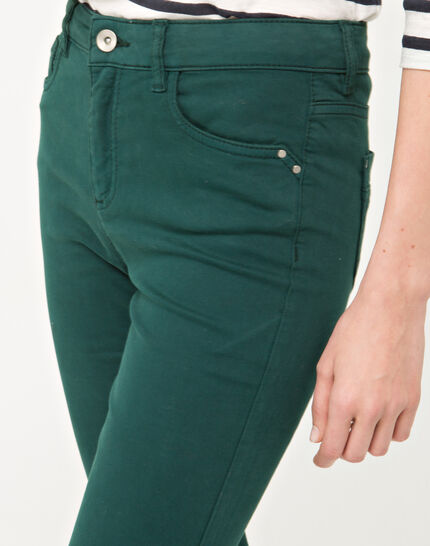 Oliver 7/8 length green trousers (5) - 1-2-3