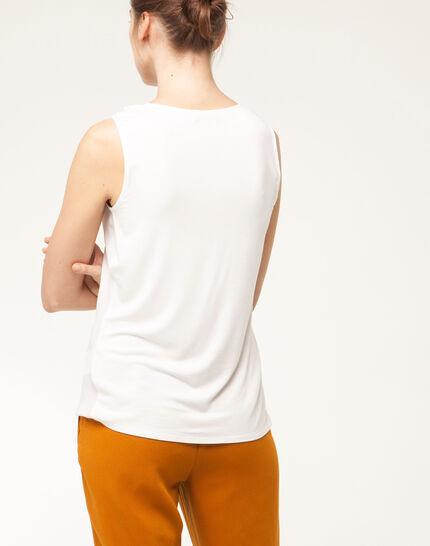 Nala ecru sleeveless top (4) - 1-2-3