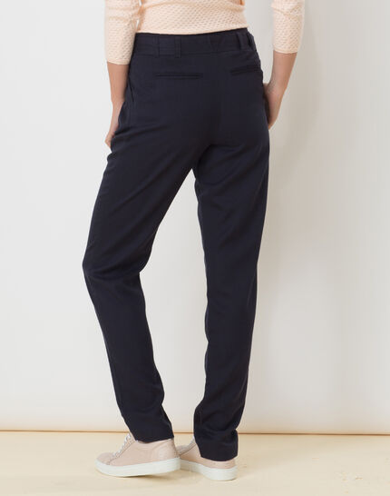 Darcy blue flowing trousers (4) - 1-2-3