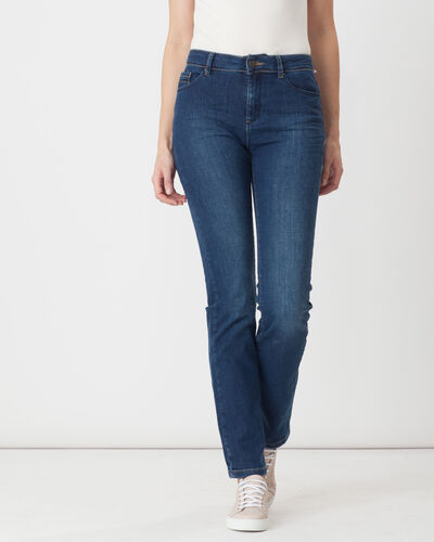 Victor straight stonewashed blue jeans (1) - 1-2-3