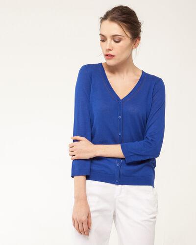 Harty royal blue cardigan (2) - 1-2-3