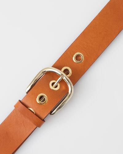 Yohan camel leather belt (2) - 1-2-3