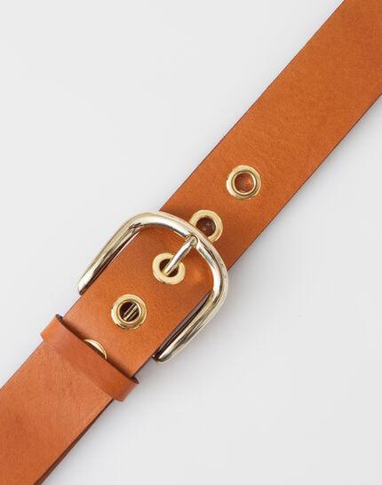 Yohan camel leather belt PhotoZ | 1-2-3