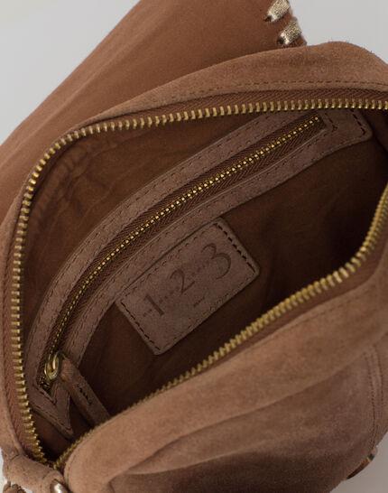Pedro camel velour bag (5) - 1-2-3