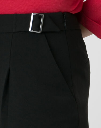 Rythme black trousers with buckle at the belt (4) - 1-2-3
