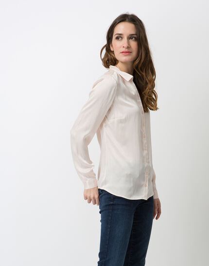 Dany powder pink silk shirt (3) - 1-2-3