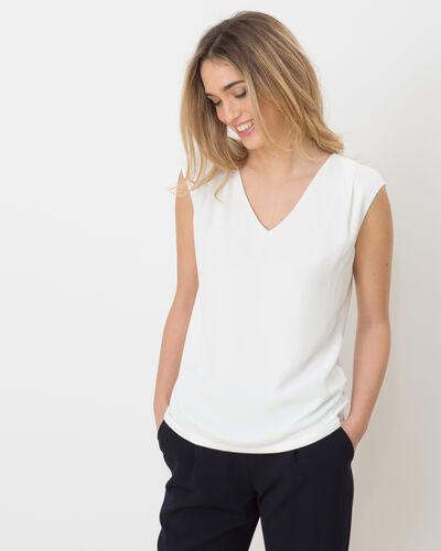 Tee-shirt écru Neptune (1) - 1-2-3