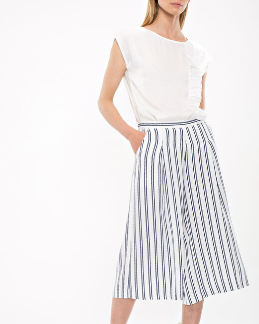 Dori striped culottes (1) - 1-2-3