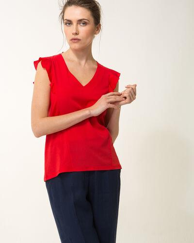 Tee-shirt rouge natalie (1) - 1-2-3