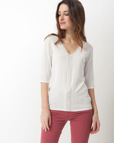Honey V-neck ecru sweater (1) - 1-2-3