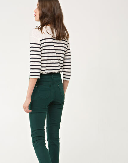 Oliver 7/8 length green trousers (4) - 1-2-3