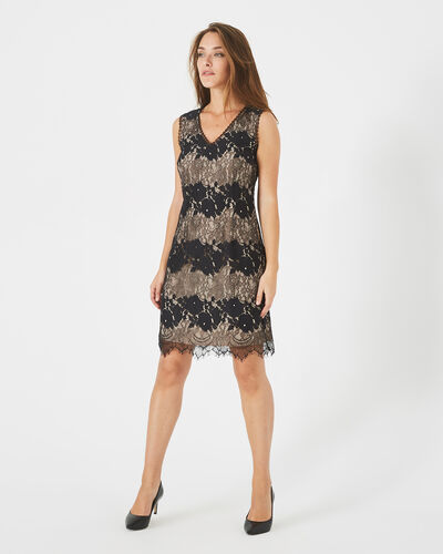 Francesca black lace dress (1) - 1-2-3