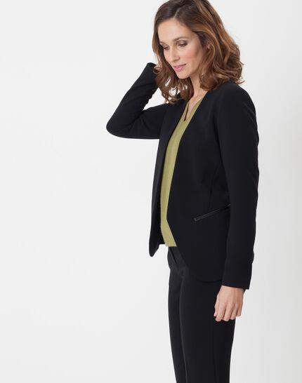 Maite black jacket with belt (3) - 1-2-3