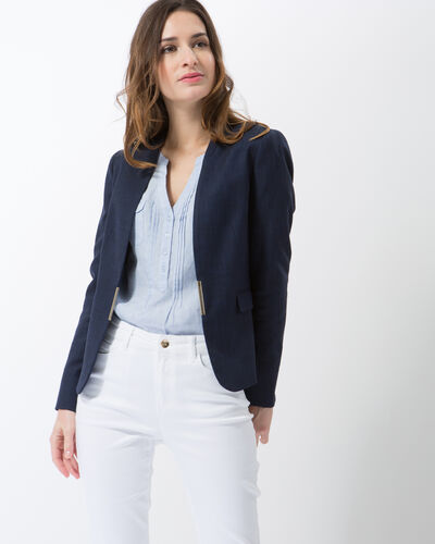 Claire blue tailored jacket (2) - 1-2-3