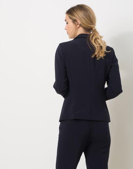 Eve Bis navy blue tailored jacket (4) - 1-2-3