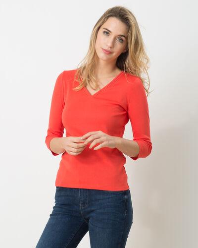 Noria orangey T-Shirt (1) - 1-2-3