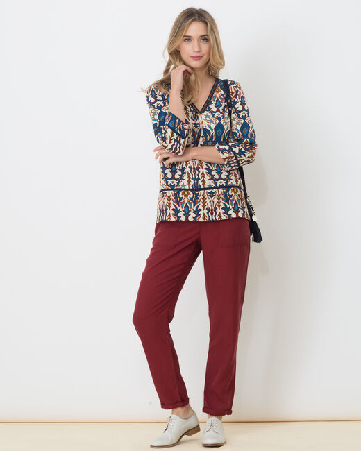 Enza printed shirt (2) - 1-2-3
