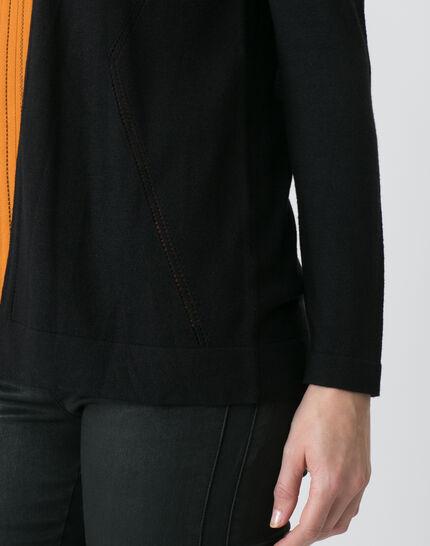 Honore black cardigan (5) - 1-2-3