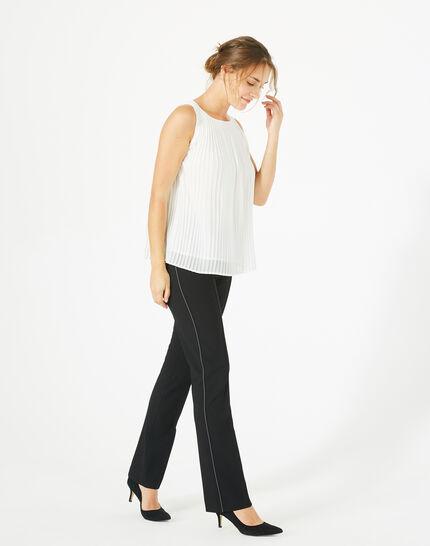 Pantalon de tailleur noir Vilona PhotoZ   1-2-3