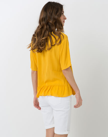 Esmee sunny yellow blouse with pagoda shirt (3) - 1-2-3
