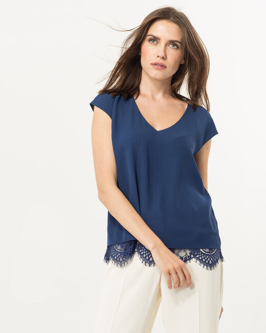 Twist blue top (1) - 1-2-3