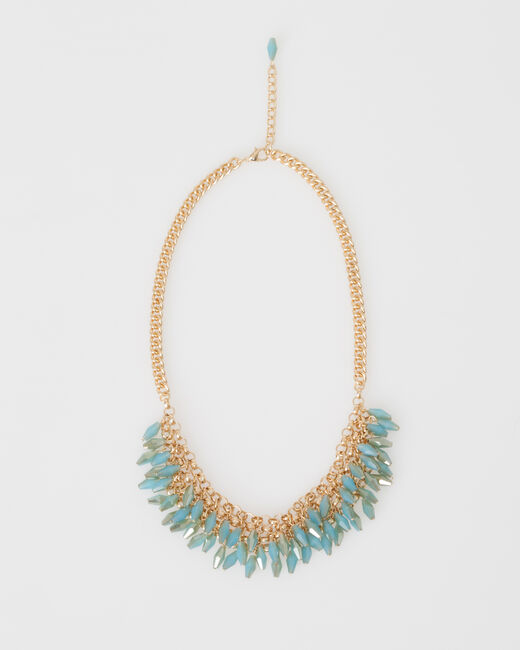 Collier plastron de perles Wandita (2) - 1-2-3