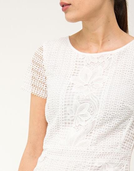 Biba white lace dress (5) - 1-2-3